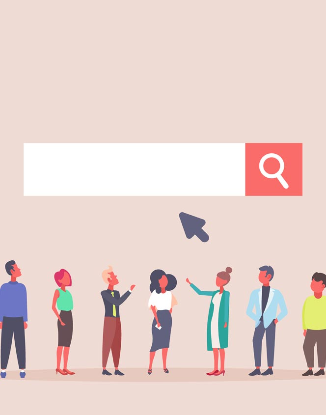 Google Adword Search people looking at searchbar